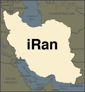 map of iRan 1