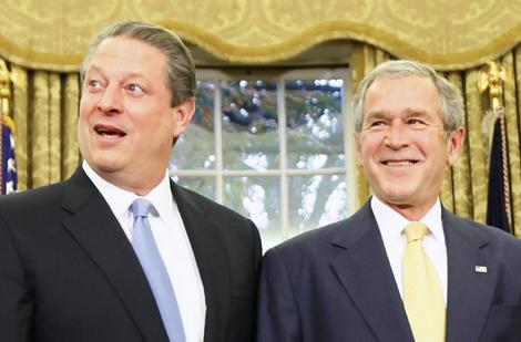 gore and bush